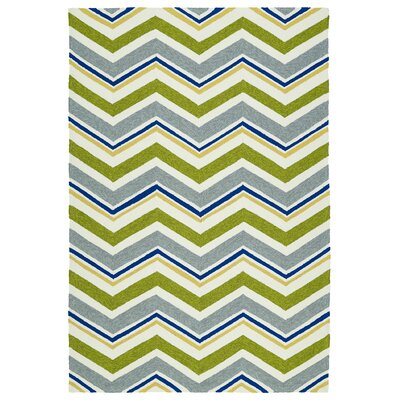 Alpine Bay Green Indoor/Outdoor Area Rug Rug Size: 2 x 3