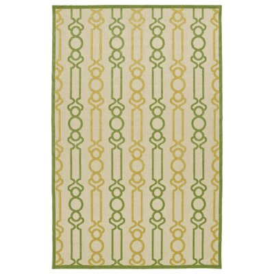 Almond Creek Gold Indoor/Outdoor Area Rug Rug Size: 5 x 76