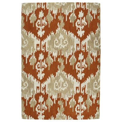 Dodge Paprika Area Rug Rug Size: Rectangle 76 x 9