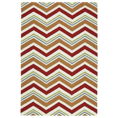 Alpine Bay Red Indoor/Outdoor Area Rug Rug Size: 2 x 3