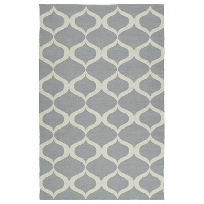 Dominic Gray/Cream Indoor/Outdoor Area Rug Rug Size: Rectangle 9 x 12