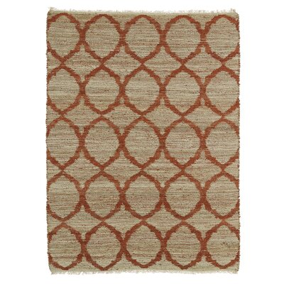 Dolder Grey & Rust Area Rug Rug Size: Rectangle 8 x 11