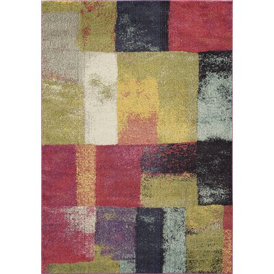 Whitchurch Beige/Gray Area Rug Rug Size: Rectangle 53 x 76