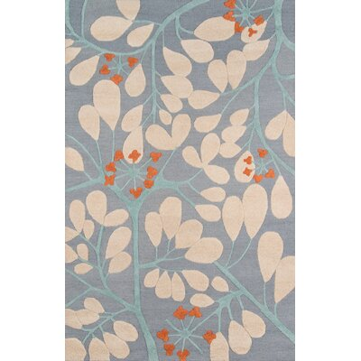 Dominick Hand-Tufted Blue Area Rug Rug Size: Rectangle 76 x 96
