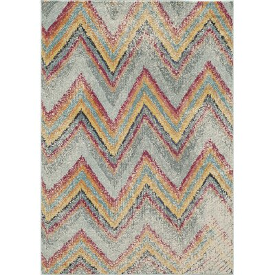 Whitchurch Gray Area Rug Rug Size: Rectangle 53 x 76