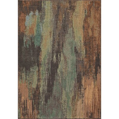 Whitchurch Brown Area Rug Rug Size: Rectangle 53 x 76