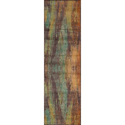 Whitchurch Brown Area Rug Rug Size: Runner 23 x 76