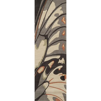 Manistee Brown Area Rug Rug Size: Runner 26 x 8