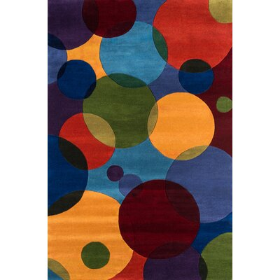 Amherst Hand-Tufted Blue Area Rug Rug Size: Runner 2'6