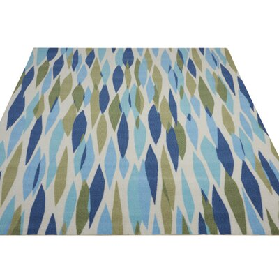Gloria Blue/Green Indoor/Outdoor Area Rug Rug Size: 79 x 1010
