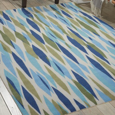 Gloria Indoor/Outdoor Area Rug Rug Size: Rectangle 53 x 75