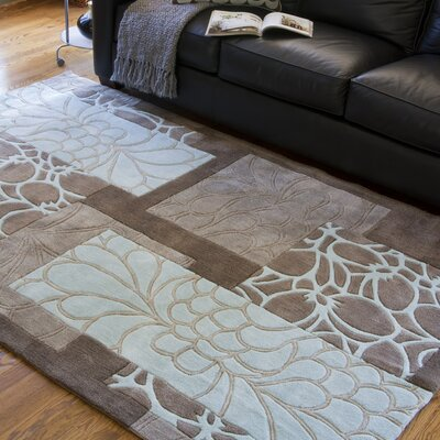 Deveau Mushroom Rug Rug Size: Rectangle 5 x 8