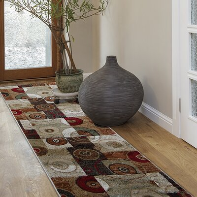 Nolan Multicolor Area Rug Rug Size: 17 x 28