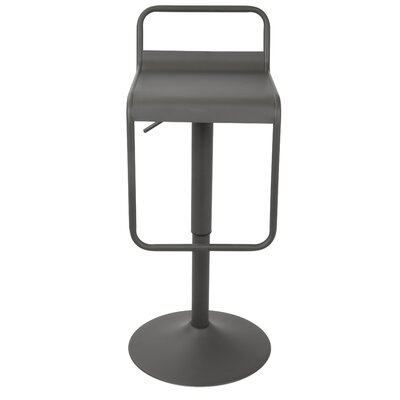 Clark Adjustable Height Swivel Bar Stool