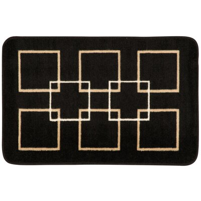 Donelson Black Area Rug
