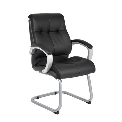 Executive Guest Chair Upholstery: Black