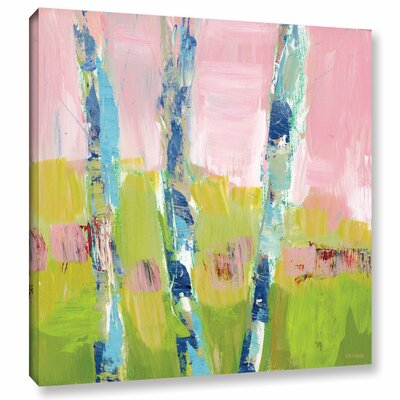 'Trees Strength' Painting Print on Wrapped Canvas Size: 10