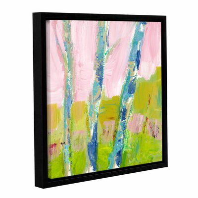 'Trees Belief' Framed Painting Print Size: 10