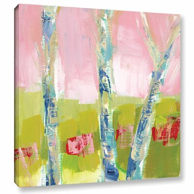 'Trees Hope' Painting Print on Wrapped Canvas Size: 10