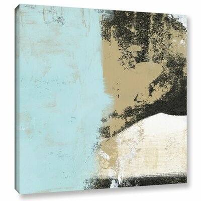 'White Mountains' Painting Print on Wrapped Canvas Size: 10