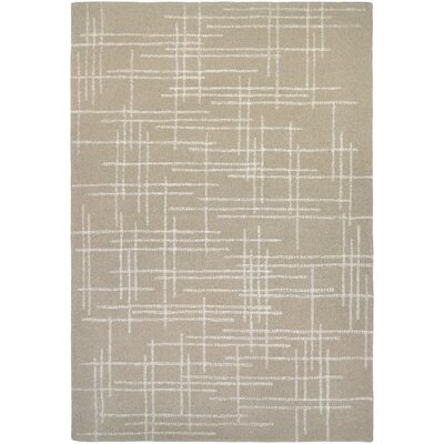 Corazon Hand-Woven Linen Area Rug Rug Size: Rectangle 36 x 56