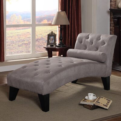 Anabelle Chaise Lounge Color: Gray