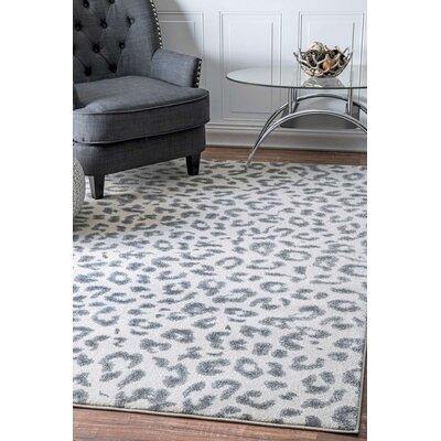Loretta Gray Area Rug Rug Size: 8 x 10