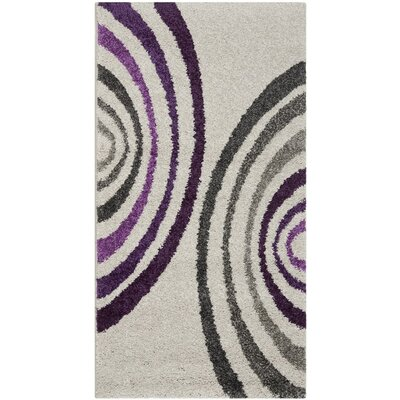 Nanette Creme Area Rug Rug Size: Rectangle 27 x 5