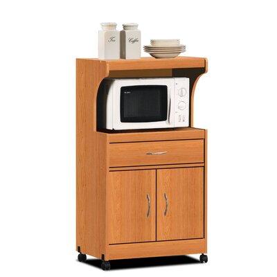 Moquin Microwave Cart Base Finish: Cherry