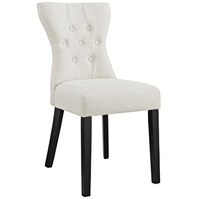 Pineda Side Chair Upholstery: Beige