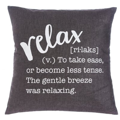 Carly Relax Throw Pillow