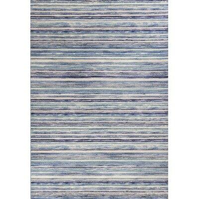 Karla Horizons Blue Area Rug Rug Size: 710 x 112