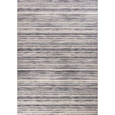 Karla Horizons Gray Area Rug Rug Size: 710 x 112