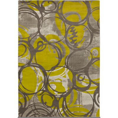 Clifford Olive/Gray Area Rug Rug Size: Rectangle 22 x 3