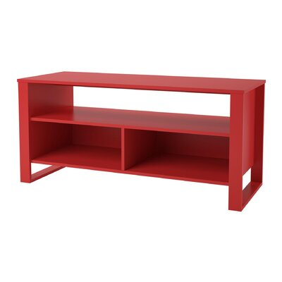 Hollie TV Stand Finish: Ruby Red