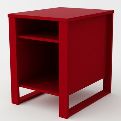 Hollie End Table Finish: Ruby Red