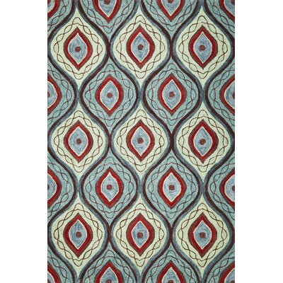 Correa Groove Rug Rug Size: Rectangle 5 x 76