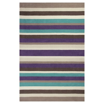 Cortes Horizon Striped Rug Rug Size: 26 x 42
