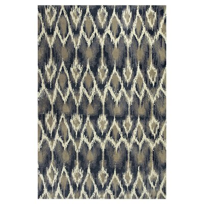 Gramercy Park Horizon Ivory/Grey Area Rug Rug Size: Runner 23 x 76