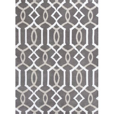 Velma Taupe Gramercy Area Rug Rug Size: 26 x 42