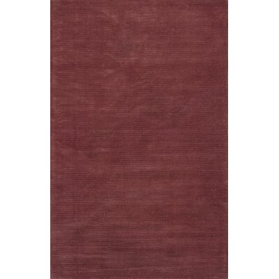 Galvan Brick Red Horizon Area Rug Rug Size: 33 x 53