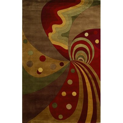 Courtyard Painters Dream Area Rug Rug Size: Rectangle 53 x 83