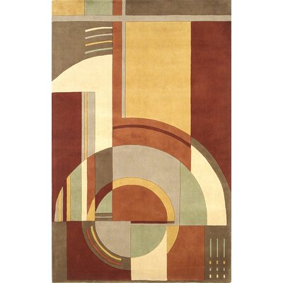 Estrada Art Deco Area Rug Rug Size: Rectangle 93 x 133