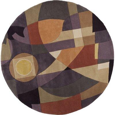 Estrada Pastel Visions Area Rug Rug Size: Round 56