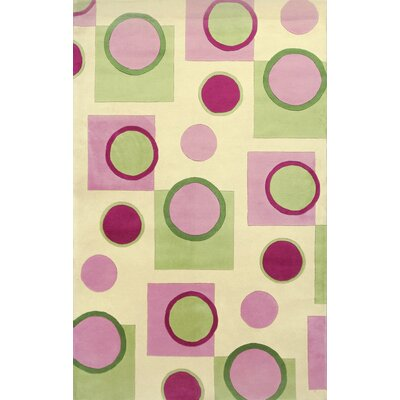 Estrada Pink Fizz Area Rug Rug Size: Rectangle 36 x 56