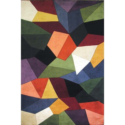 Cathryn Prisms Area Rug Rug Size: 26 x 46