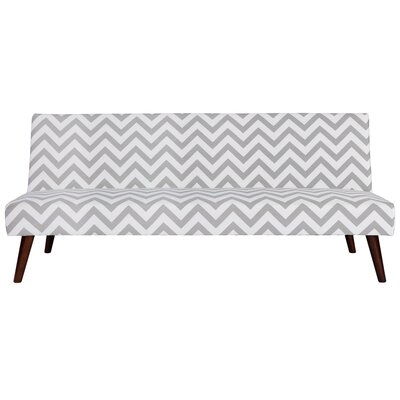 Zipcode Design ZIPC7702 Janiyah Chevron Convertible Sofa