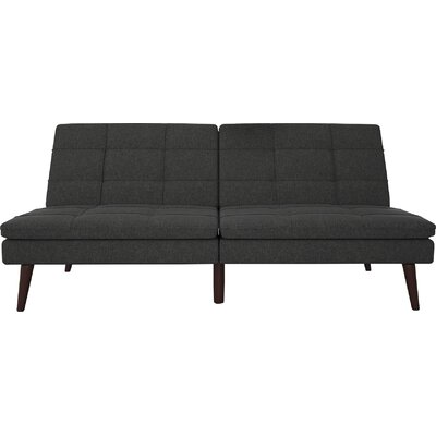 Makenzie Convertible Sofa Upholstery: Grey
