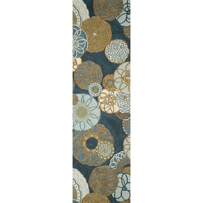 Derby Denim Outdoor Rug Rug Size: Runner 2 x 8