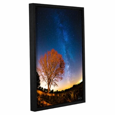 'Illinois Milky Way' Framed Photographic Print Size: 12